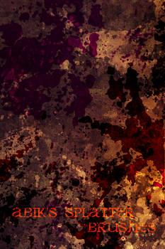Abik's Splatter Set GIMP