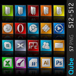 Qube Icon Pack