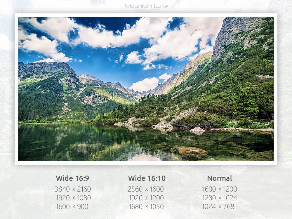 Mountain Lake by k2aven