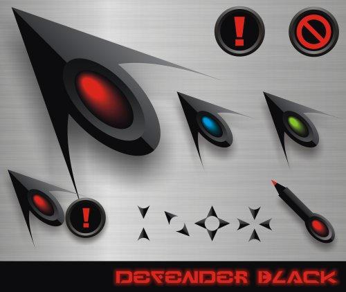 Defender Black by GrynayS