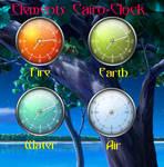 Elements Cairo-Clock