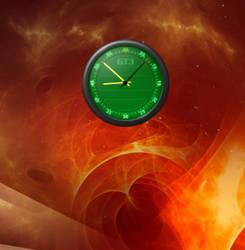 GT3-Green Cairo-Clock