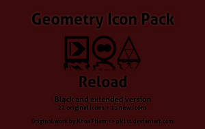 Geometry Icon Pack Reload by darkburt