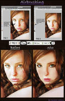 Airbrushing For PS Beginners by Filmchild