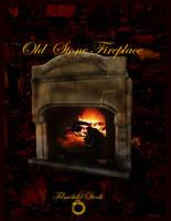 Old Stone Fireplace stock by Filmchild