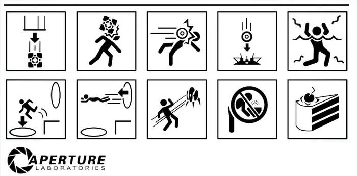 Portal Icons Brushes