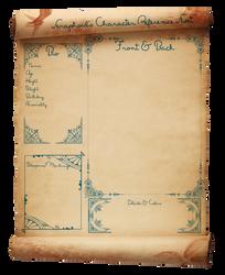 Seraphoids Parchment Ref Sheet