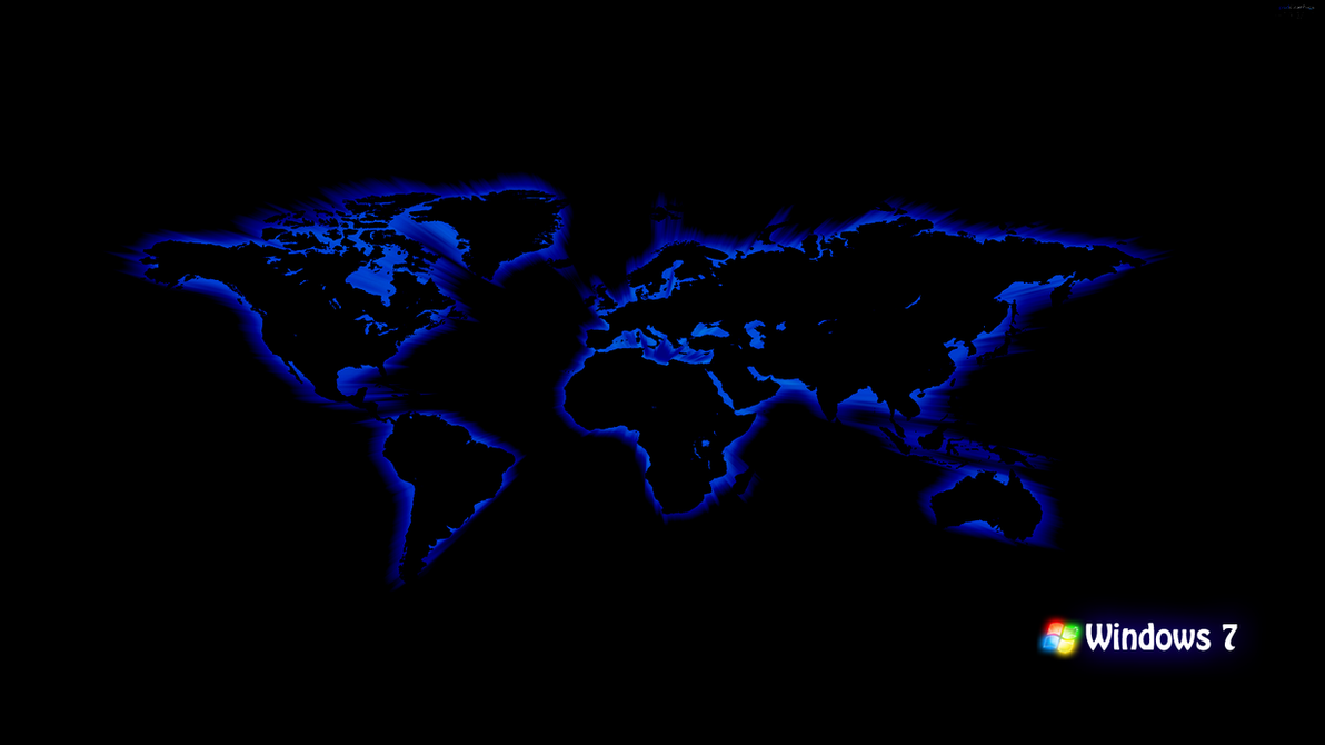 Blue world map by blackboy993 on deviantart blue world map by blackboy993 gumiabroncs Choice Image