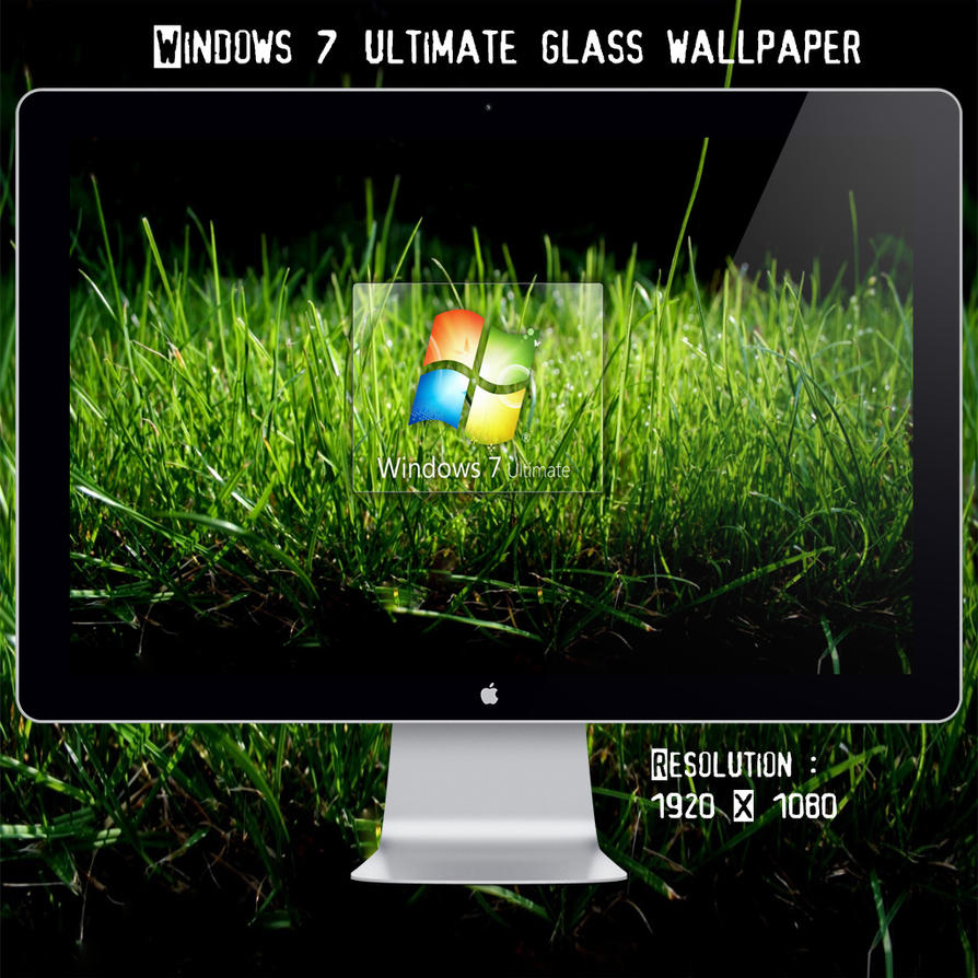 win 7 ultimate grass wallpaperblackboy993 on deviantart