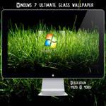 Win 7 Ultimate Grass Wallpaper