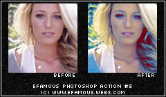 Photoshop Action 5 by efamous