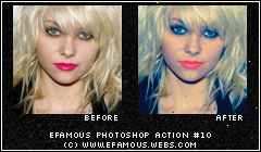 Photoshop Action 10 by efamous