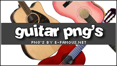 Guitar Png's by efamous