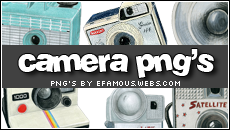Camera png's by efamous