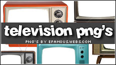 Television png's
