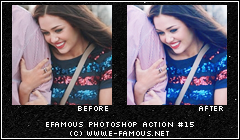 Photoshop Action 15 by efamous