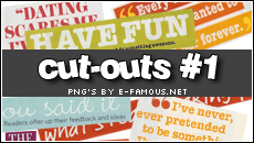 Magazine Cut-Outs 1 by efamous