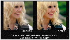 Photoshop Action 17 by efamous