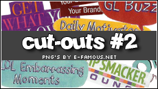 Magazine Cut-Outs 2 by efamous