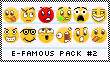 Smiley Pack 2 by efamous