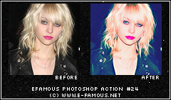 Photoshop Action 24 by efamous