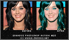 Photoshop Action 25 by efamous