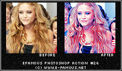 Photoshop Action 26 by efamous
