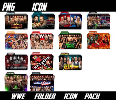 wwe match folder icon by shahid333666