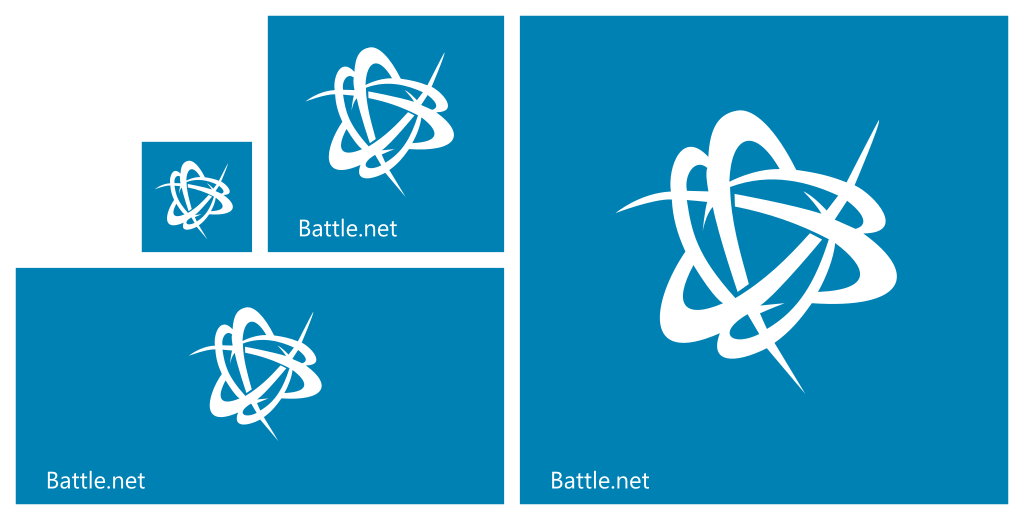 Battle Windows 81 Start Tile Set By Necromod