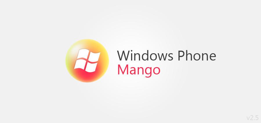 Windows Phone Mango Logo by UVSoak3d