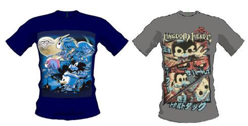 Kingdom Hearts Funko Pop for male shirt