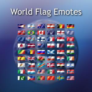 World Flag Emotes by BoffinbraiN