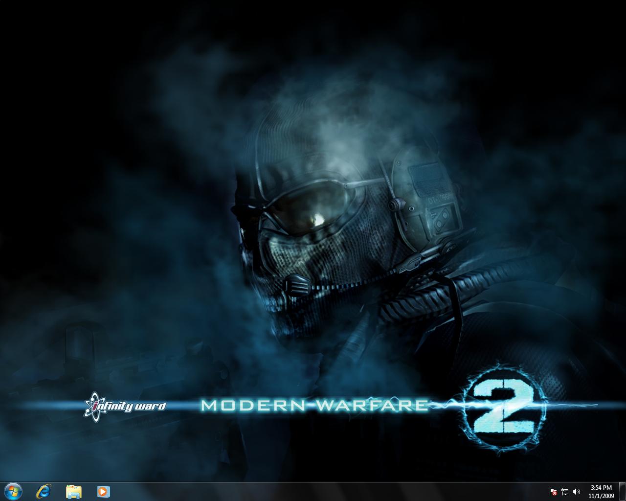 Windows 7: Modern Warfare 2