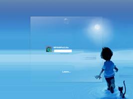 Future Kid Logon by MPAMPoULAs