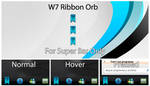W7 Ribbon Orb Blue