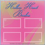 Hollow-Heart Border Pack