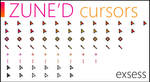 Zune'd Animated Cursors Set
