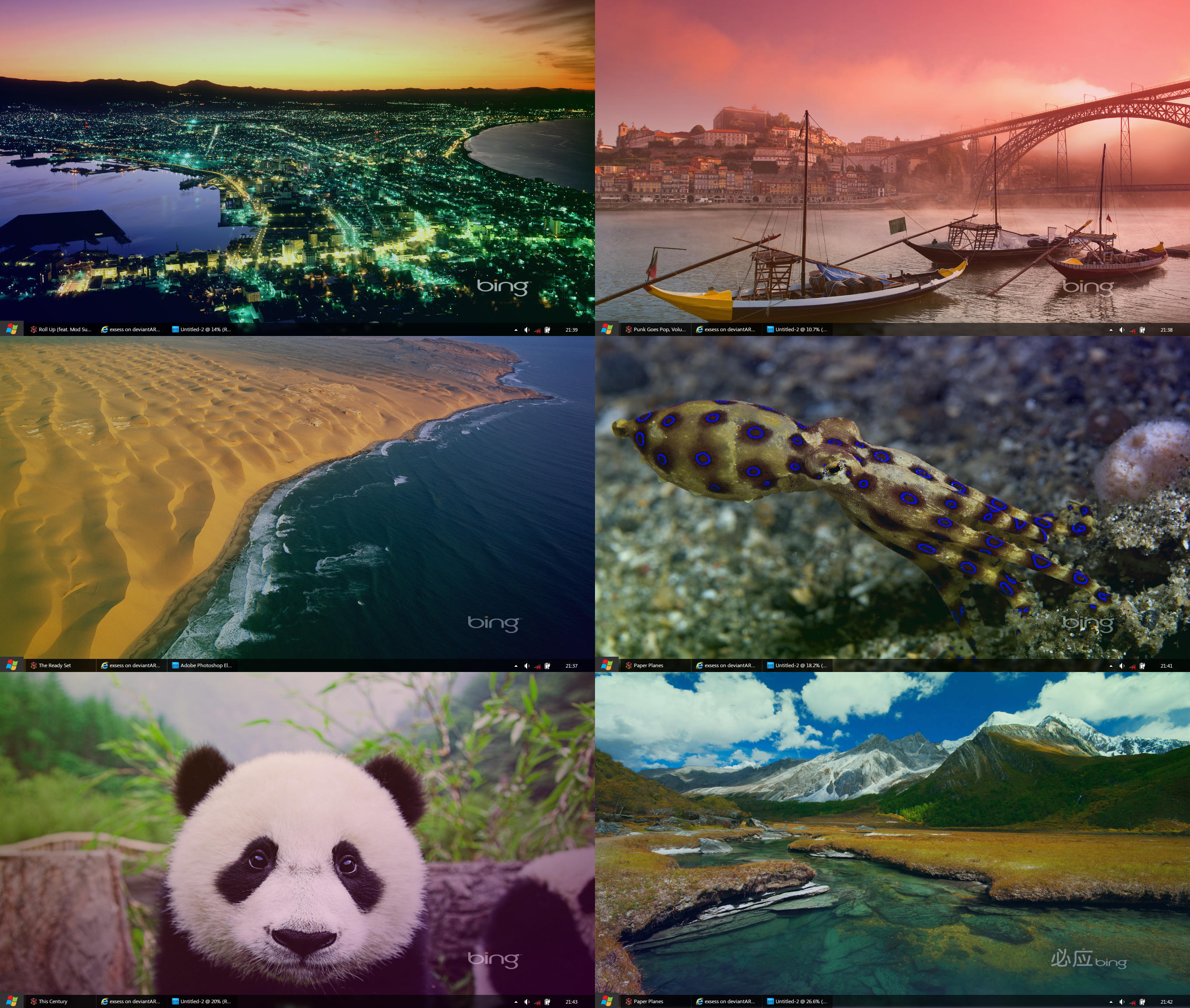 Best of Bing HD Wallpapers PART ONE by exsess