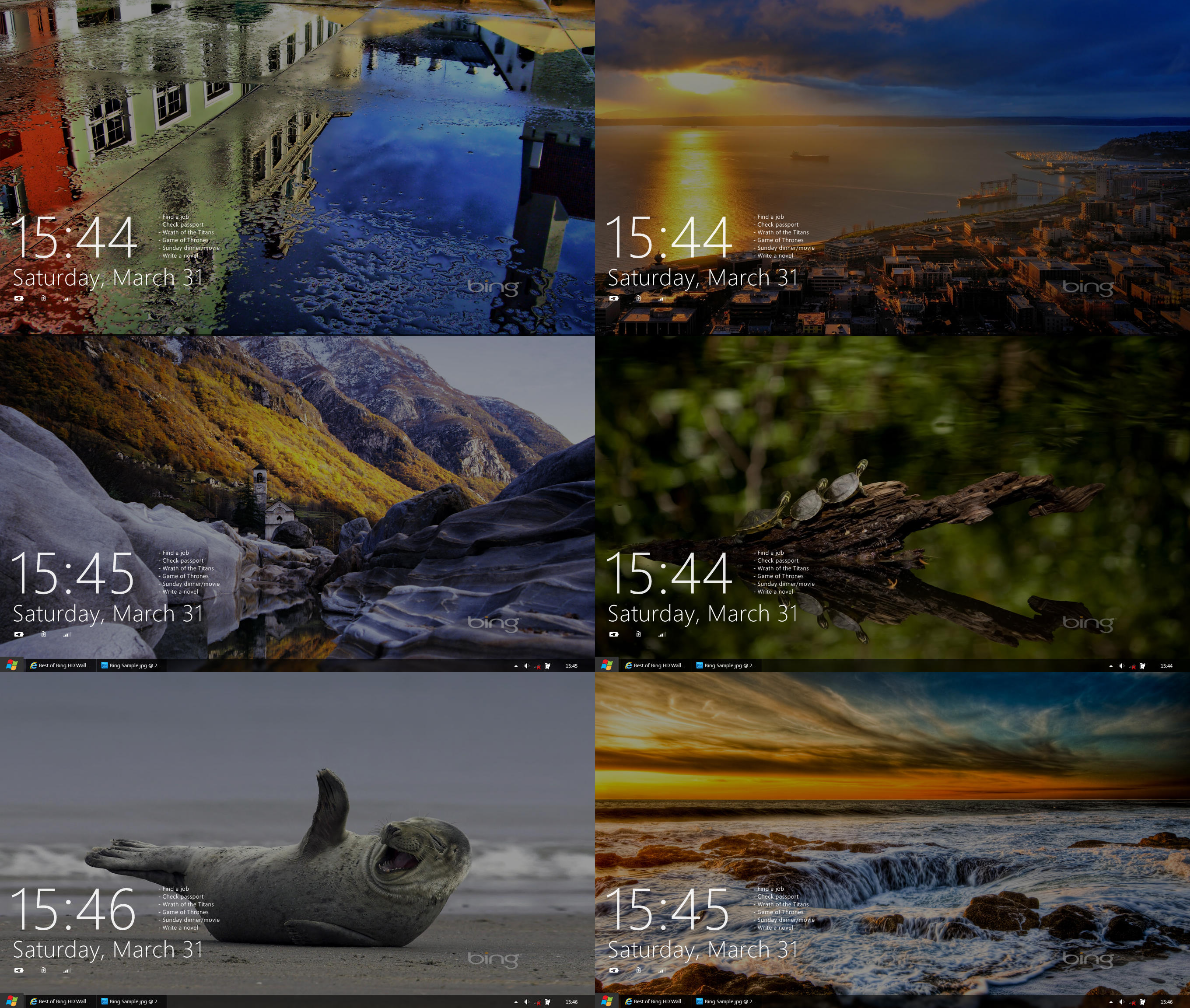 Best of Bing HD Wallpapers PART FOUR by exsess