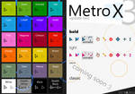 Metro X3 Cursors (Update Two)