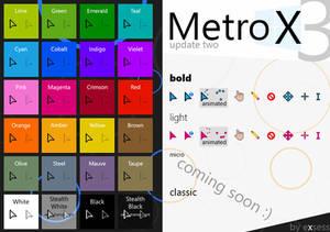 Metro X3 Cursors (Update Two)