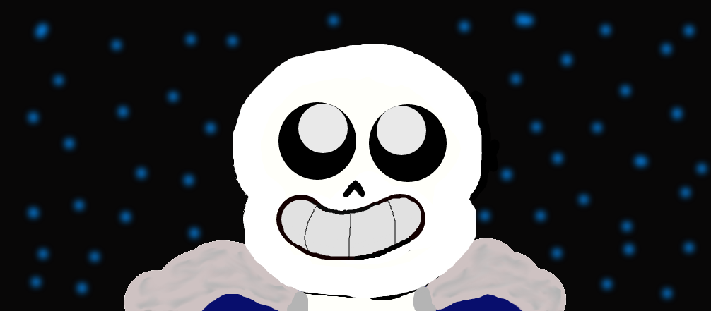 Sans Looking At The Stars by Slimelover1cool