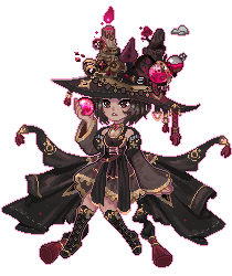 C: Hobberzz - Ruby Witch Pagedoll