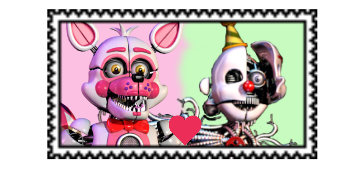REQUEST: Funtime Ennoxy stamp by TinkerBellTheChihua