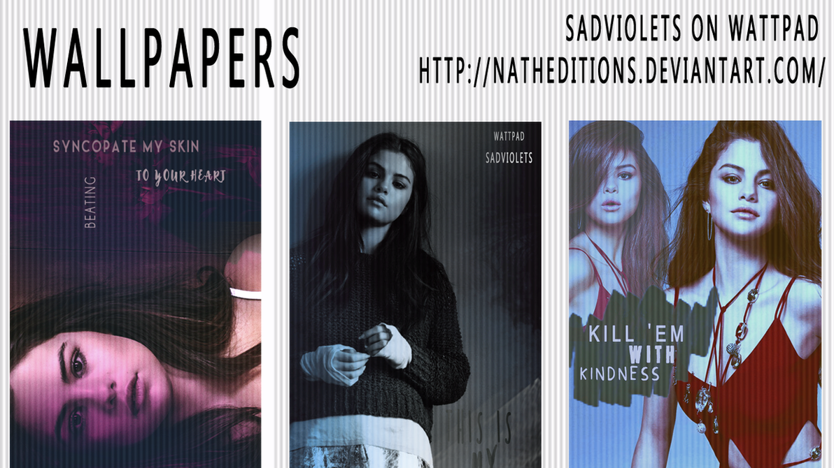 Wallpapers / Selena Gomez. #1 by natheditions