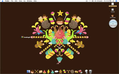 candyland mac icons by loveshugah