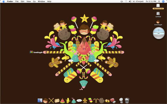 candyland mac icons