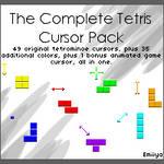 Complete Tetris Cursor Pack