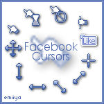 Facebook Cursors Pack