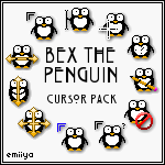 Penguin Cursor Pack by Emiiya
